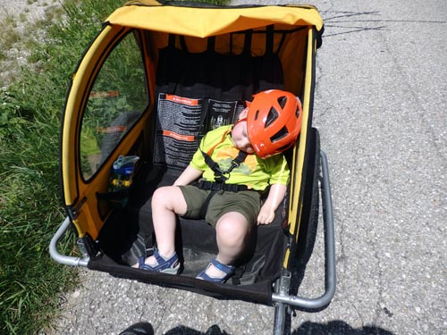 Child friendly bikes and trailers