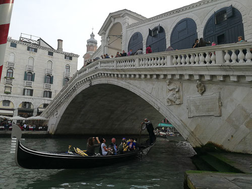 Riolto Bridge in Venice