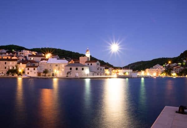 Croatia at dusk