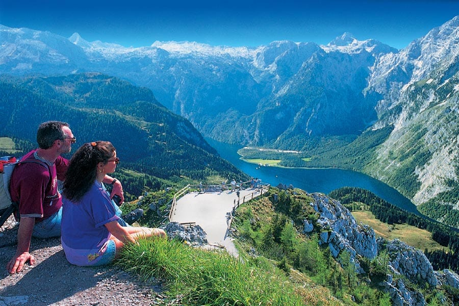 hikers in Austria