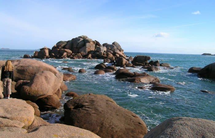 Rugged French Coastline