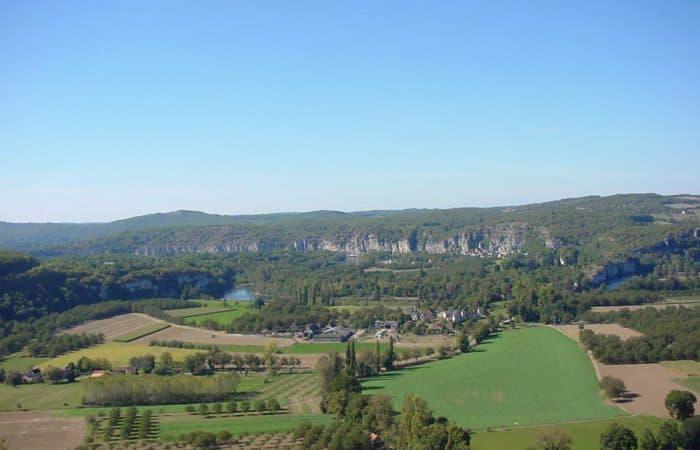 Dordogne Landscape with trees