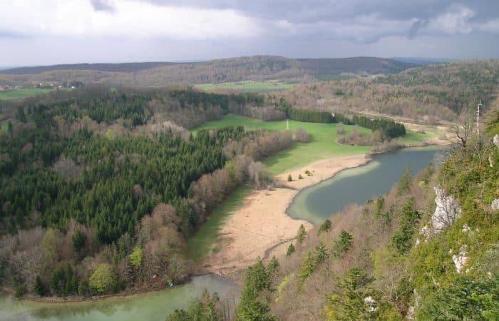 Jura Mountains Landscape
