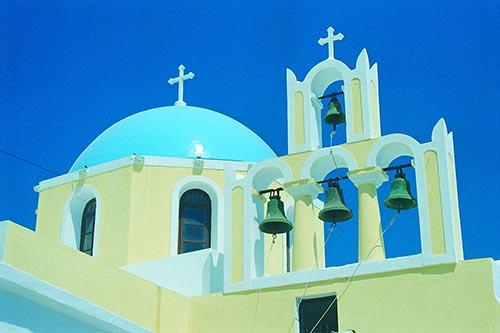Church in Thira, Santorini