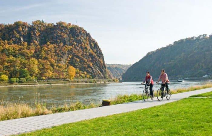 Rheinradweg, Loreleyblick