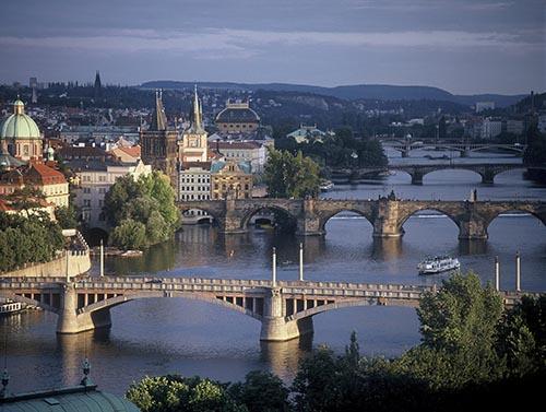 Prag, Abendstimmung